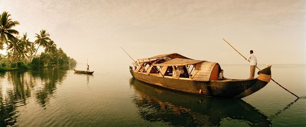 Beside Still Waters: the backwaters of Kerala, India, 1999. (Picture: Macduff Everton; National Geographic)