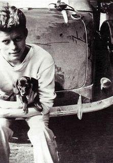 JFK & his dachshund