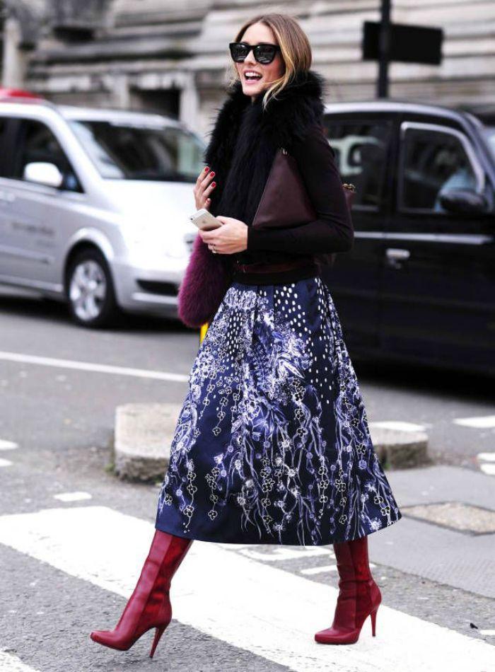inspiration: midi and boots inspiracion - Lady Addict
