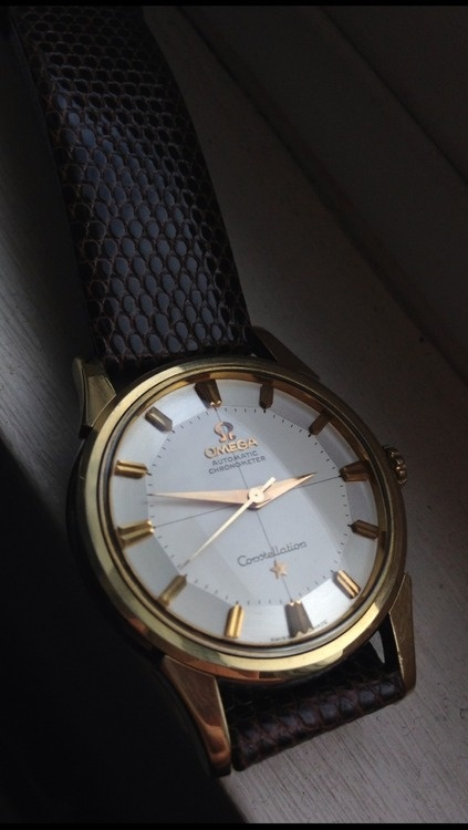 Vintage Omega Constellation Piepan 1950s