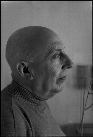 Ugo Mulas - Fausto Melotti, 1968