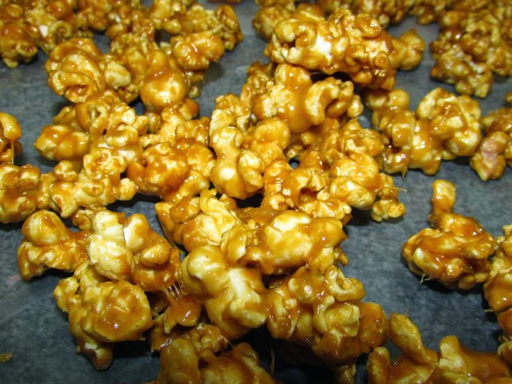 Cooking with Carlee: Peanut Butter Popcorn