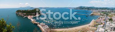 Nisida, Napoli Landscape Royalty Free Stock Photo