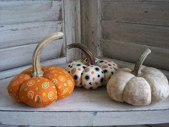 Primitive Pumpkins by moonbeamprimitives on Etsy