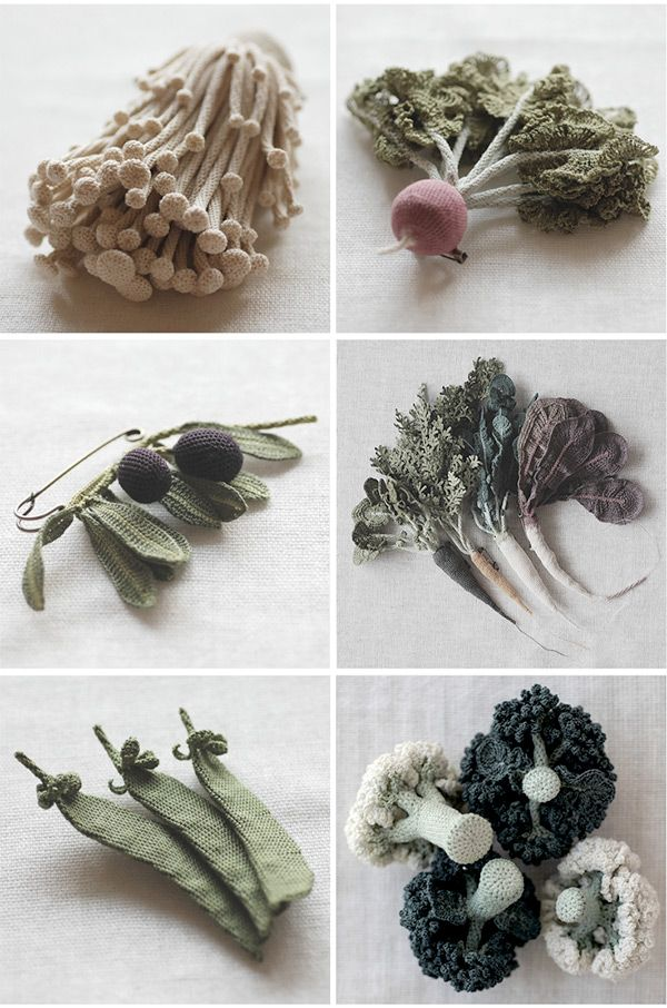 Itoamika Jung Jung's Knit Vegetables - Plant Propaganda