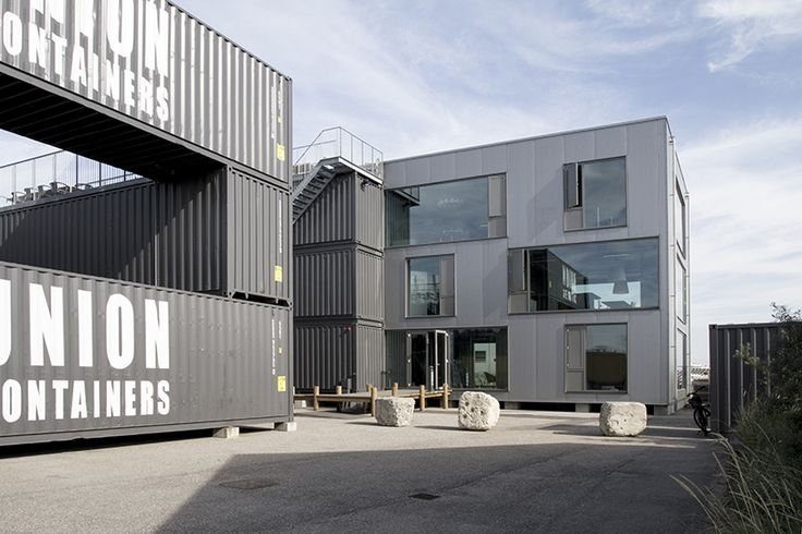 arcgency continue their 'STACK' series with an updated addition to their shipping container office space.