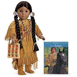 Why didn't they have a Native American  American Girl doll when I was a kid?!  I'm sure I would have found the books a lot more interesting than I found the Addy books since my mom is Native American.