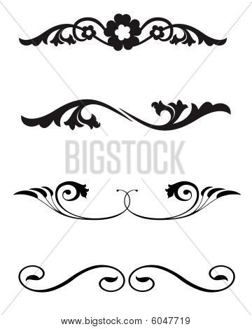 163 Best Flourishes And Swirls Images On Pinterest