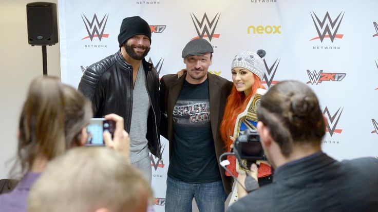WWE Superstars party with the WWE Universe in Madrid, Spain