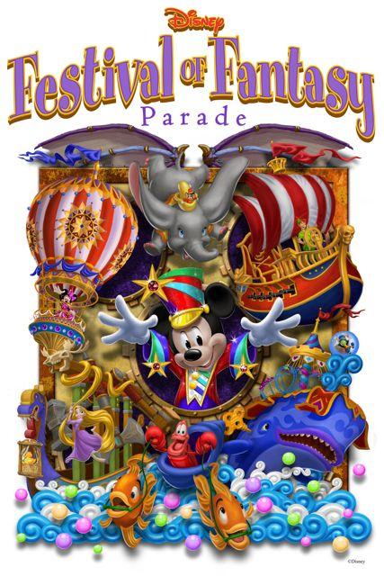 Festival of Fantasy Parade at Magic Kingdom