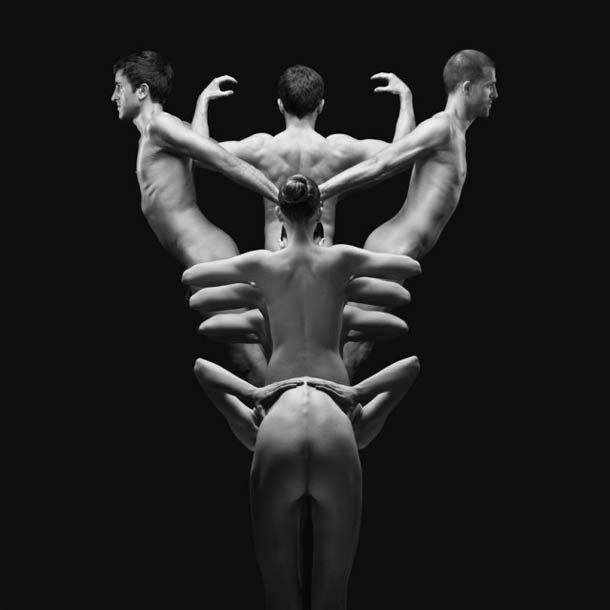 Klecksography – Assemblages de corps humains