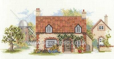Old Mill Lane by Derwentwater Designs (6 of 10), counted cross stitch kit