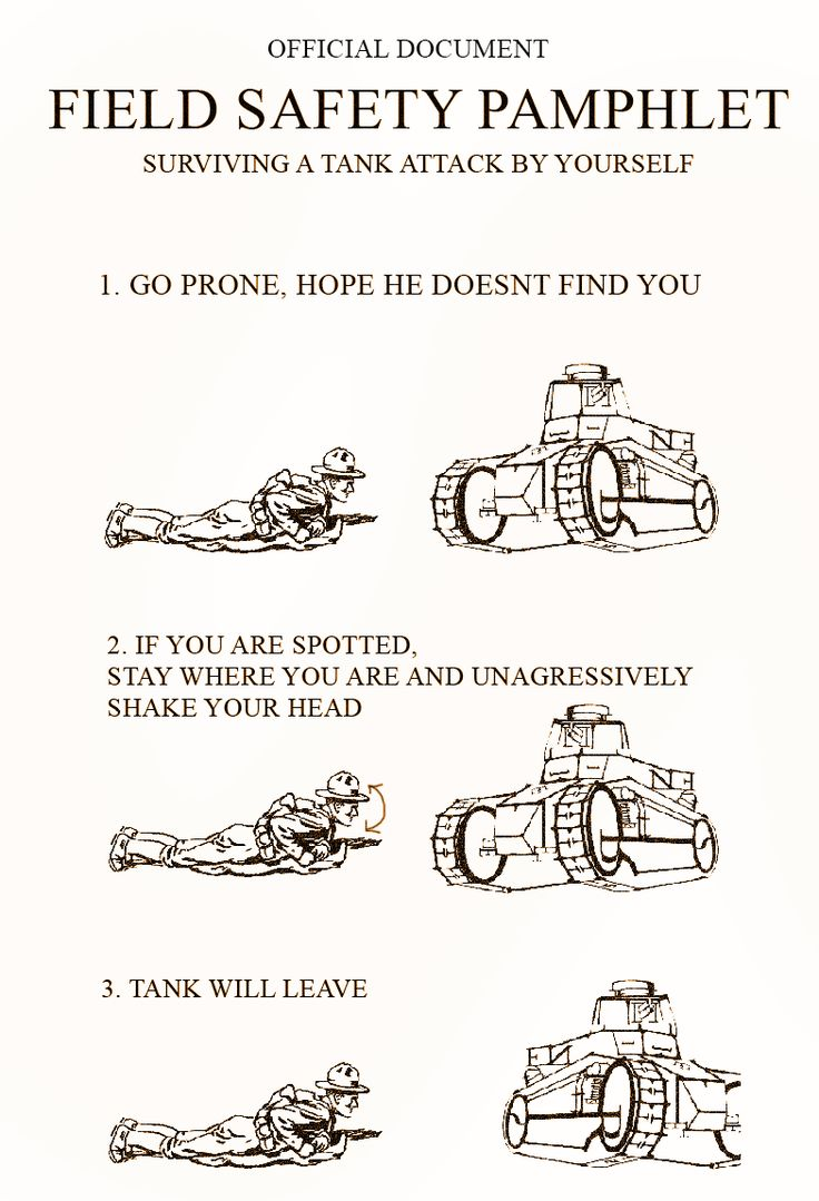 Battlefield 1 field safety manual: Tanks. http://ift.tt/2j86UCc