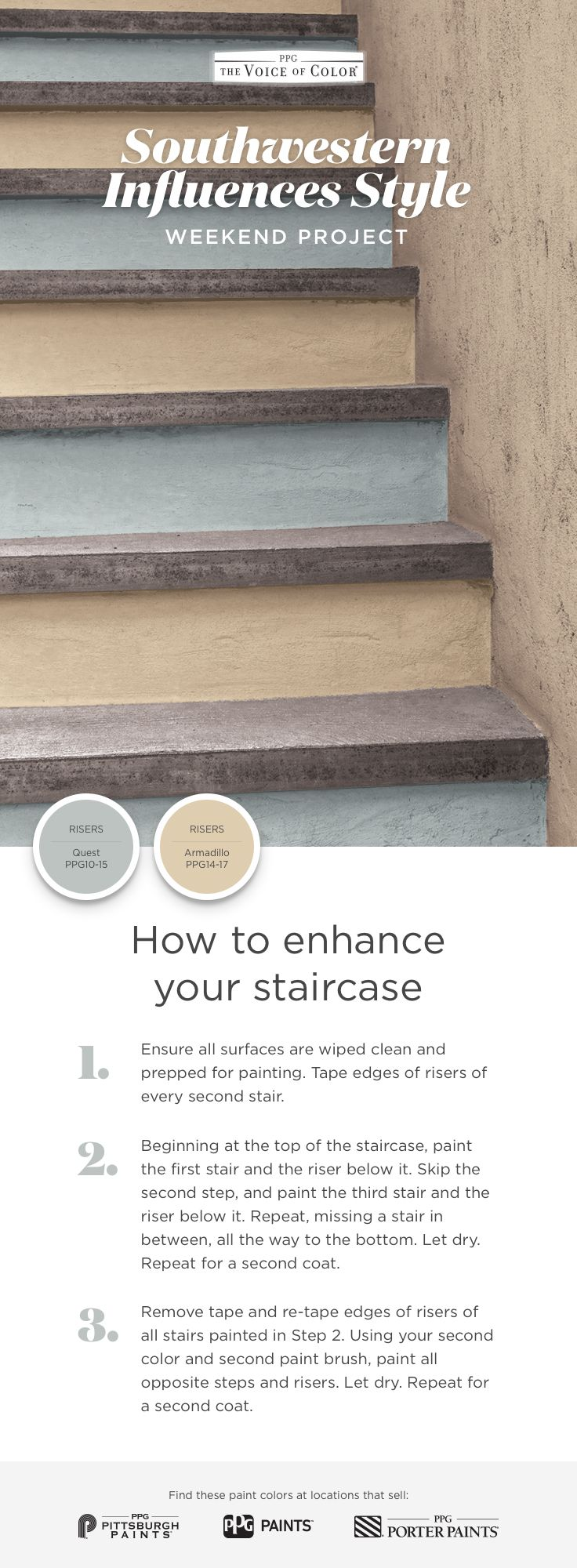 Project Steps: Best 20+ Staircase Painting Ideas On Pinterest