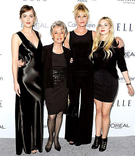 Dakota Johnson, Melanie Griffith, Tippi Hedren Stun on the Red Carpet - Us Weekly