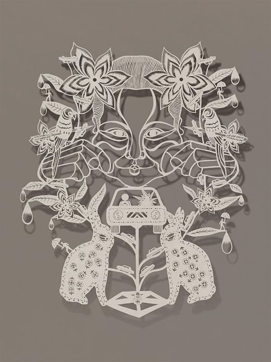 Best Bovey Lee Images On Pinterest Cut Paper Paper Art - Incredible intricately cut paper designs bovey lee