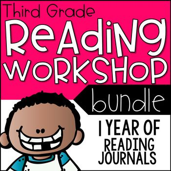 This is the ultimate 3rd grade Lucy Calkins reading workshop bundle!  It comes with journals for 5 complete reading units, each unit with a corresponding journal for school and home.  Units include: Unit 1, Building a Reading LifeUnit 2, Reading to LearnUnit 3, Character StudiesUnit 4, Research ClubsMystery Unit: Foundational Skills in Disguise from the If/Then BookDesigned specifically for teachers using the Lucy Calkins Reading Units of Study, these journals were created to support her…