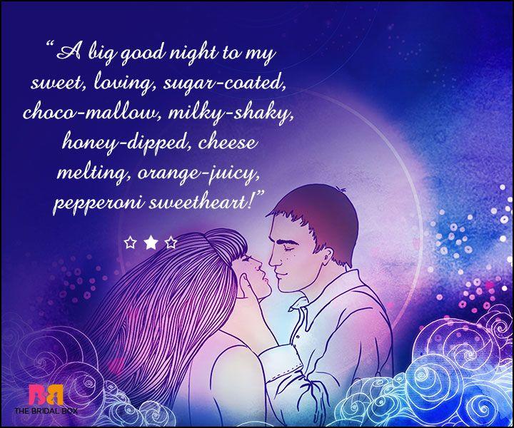 Good Night Love Sms For Girlfriend A Cute Collection Of 15 Sms Good Night Love Messages Good Night Love Sms Romantic Good Night Messages