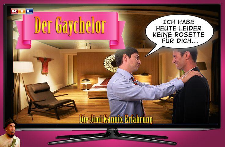 """""""Der Gaychelor"""" // Die Jimi Kannix Erfahrung ### Der Bachelor, gay, Parodie, Rosette, RTL, Schwul,"""