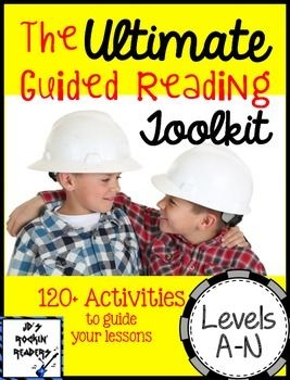The Ultimate Guided Reading Toolkit - This is a TOP SELLER on Teachers Pay Teachers! You'll get over 450 pages of great materials to help rock your guided reading block for your Kindergarten, 1st, and 2nd grade students! Click through to see why you NEED this toolkit in your classroom! 472 pages $