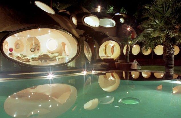 Pierre Cardin's Bubble House