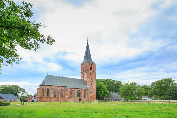 Jacobuskerk in Rolde, Drenthe the Netherlands