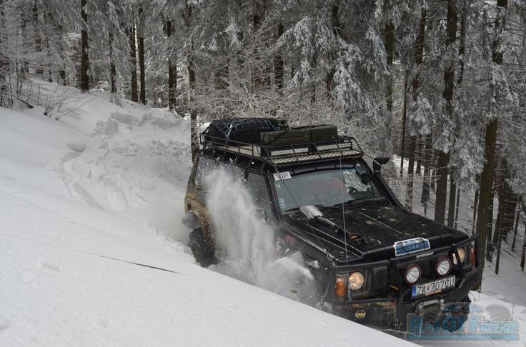 Nissan Patrol snow