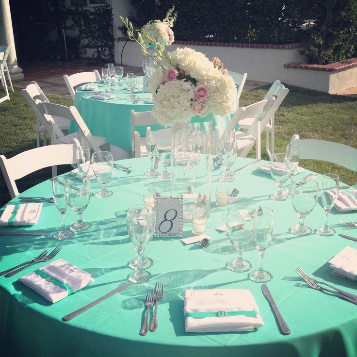 Tiffany Blue Table Setting Wedding I Caterer Weddings