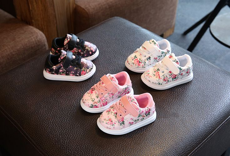 Cute Baby Shoes For Girls Soft Moccasins Shoe 2017 Autumn Black Flower Baby Girl Sneakers Toddler Boy Newborn Shoes First Walker - Kid Shop Global - Kids & Baby Shop Online - baby & kids clothing, toys for baby & kid