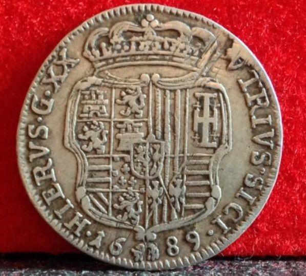 Catawiki numismatic coins collecting, Regno di Napoli - Tarí 1689 Carlo II di Spagna - argento