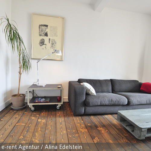 Wohnzimmer_ möblierte Wohnung_ Köln …