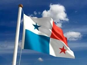 Panama flag- The Panama flag's colors symbolize the two political parties of Panama, the Liberals, which are red and the Conservatives, which are blue. The white represents peace between them and the equal division of the colors states that they both govern the country at different times.