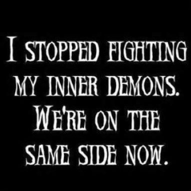 stopped fighting: Laughing, Inspiration, Life, Side, Funny Stuff, Funny Quotes, Humor, Things, Inner Demons