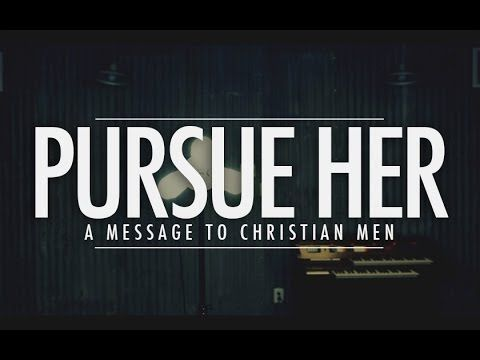 Pursuing and Initiating: The Role of Men in Dating.  Hilarious but quality perspective:)