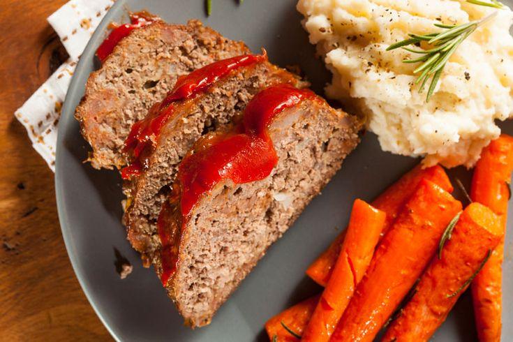 Ranch Meatloaf Recipe using Hidden Valley Ranch Seasoning packet.