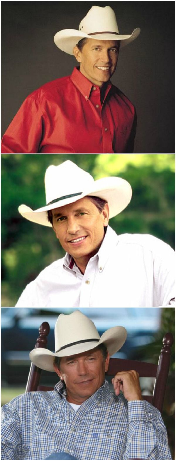 George Strait ~ The king of country music!