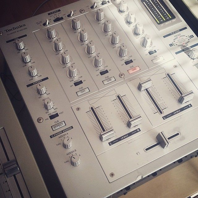Toys for boys! #technics #classic #mixer