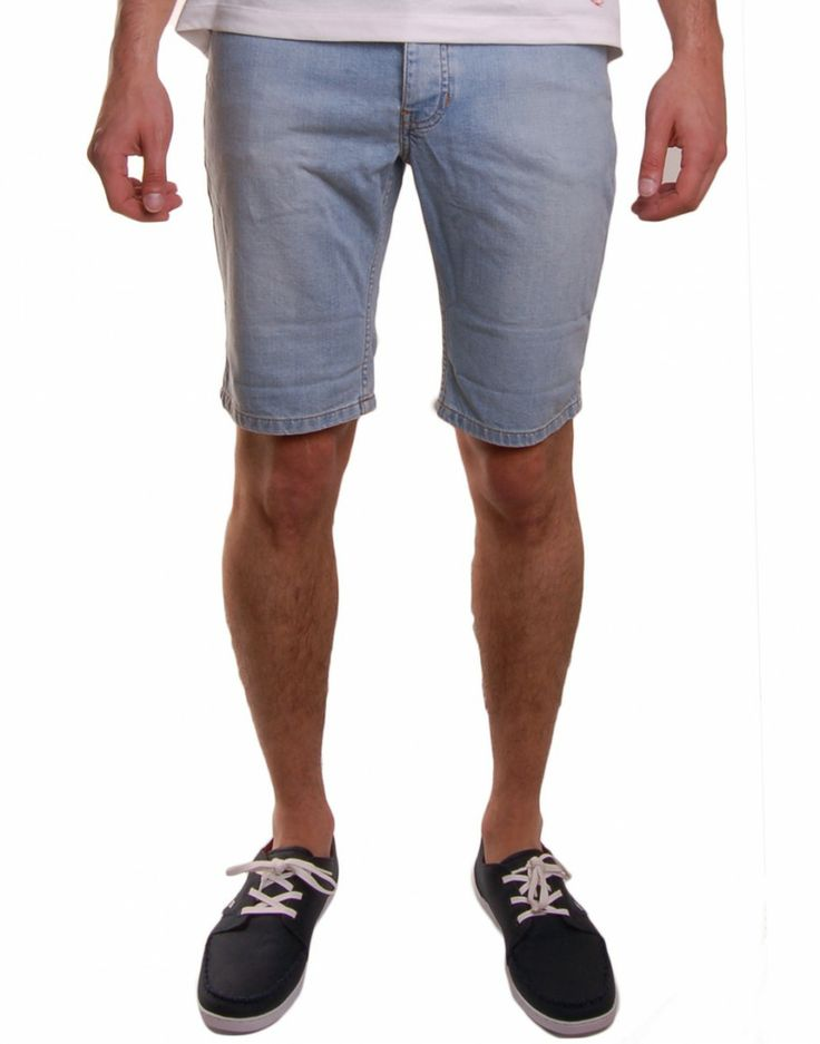Short en jean homme