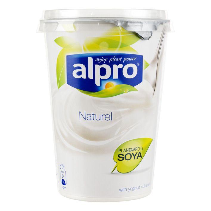 Alpro Plantaardige variatie op yoghurt naturel #vegan