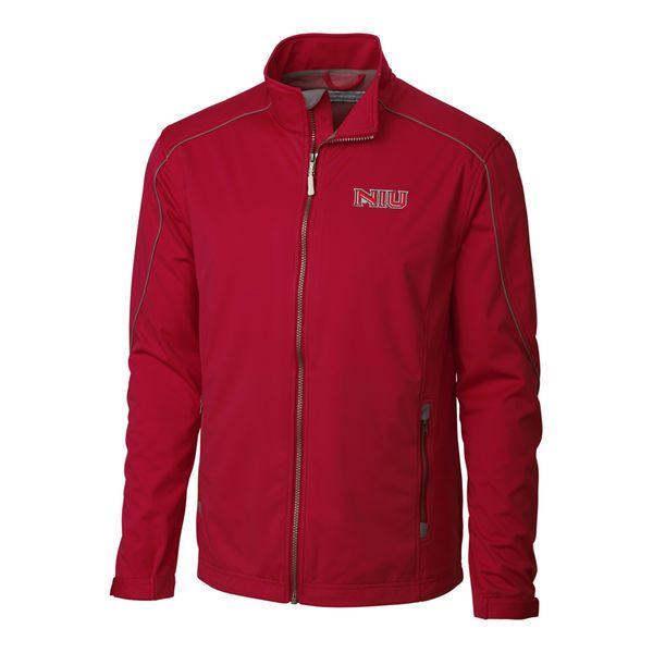 Northern Illinois Huskies Cutter & Buck Big & Tall WeatherTec Opening Day Full Zip Jacket - Red - $99.99