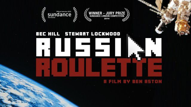 London seems a little less lonely when Lucy meets a cosmonaut on chat roulette...  BEHIND THE SCENES - https://vimeo.com/90733534  Made for under £50 while on pre-production for another film, 'Russian Roulette' is proof that the best effect your astro-short will ever need is a smart writer (Oli Fenton) and great actors (Bec Hill, Stewart Lockwood). For more from the flick, check out facebook.com/RussianRouletteShortFilm2013 or www.benastondirector.com  WINNER JURY PRIZE Sundance London ...