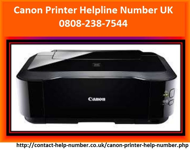 Canon Printer proves to be your best partner to meet a variety of home, office or business requirements. If you are facing any technical issue in it, you can call at Canon Printer Helpline Number UK 0808-238-7544. Technicians at our service will provide you best way possible.