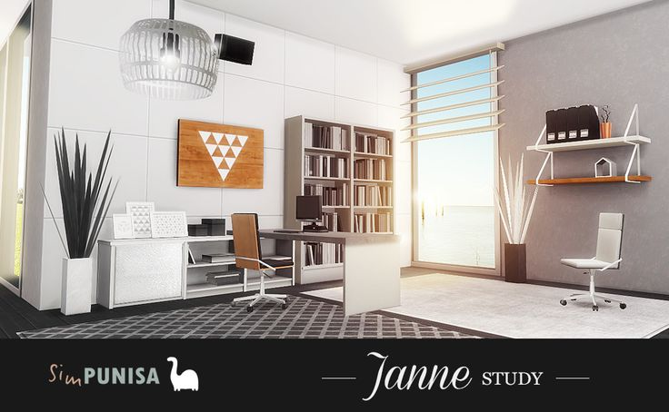 108 Best Furnitures Study Sims4 Images On Pinterest