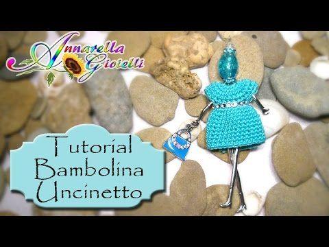 Tutorial: come realizzare un ciondolo a forma di bambola con superduo e rocaille e cipollotti - YouTube