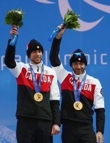 #Sochi - Brian McKeever & guide Erik Carlton - Gold Medal, 20Km Men's Cross Country Skiing