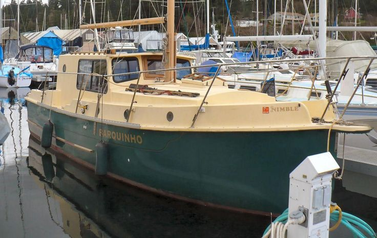 2000 Nimble Wanderer Pilothouse Motorsailer Sail Boat For Sale - www.yachtworld.com