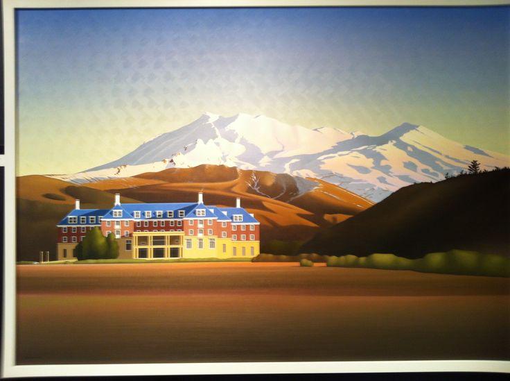 The chateau Ruapehu