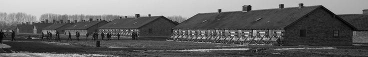 Brick barracks of the BI sector.