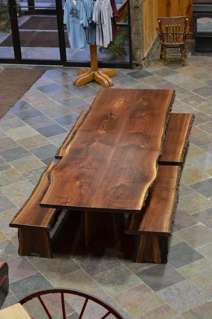 The 25 best walnut slab ideas on pinterest woodworking for Live edge wood slabs new york