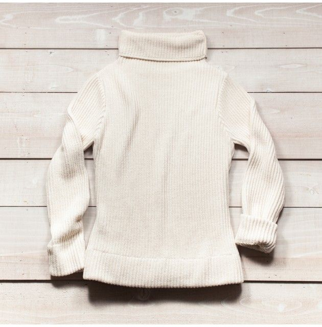 Nicole Turtleneck - Cream Cotton